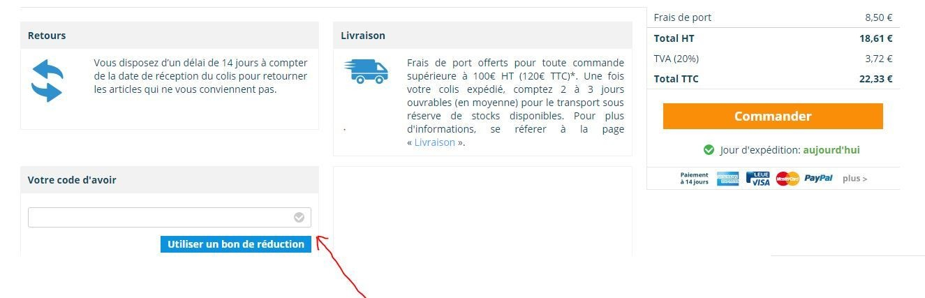 Réduction Lampesdirect
