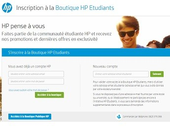 HP promotion étudiants
