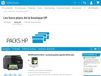 les packs HP