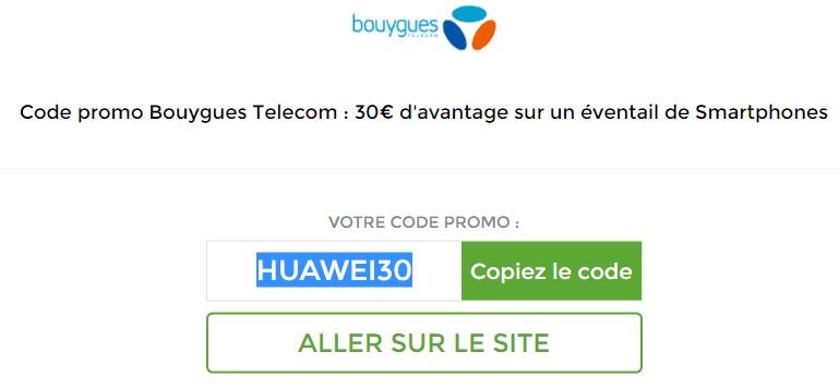 code promo Bouygues Telecom