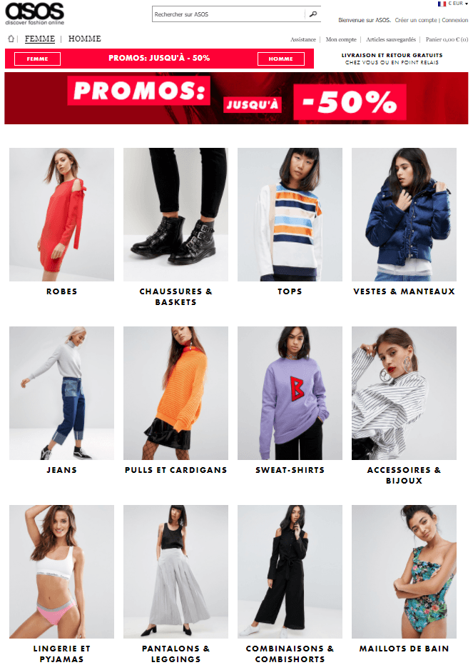 promotions Asos