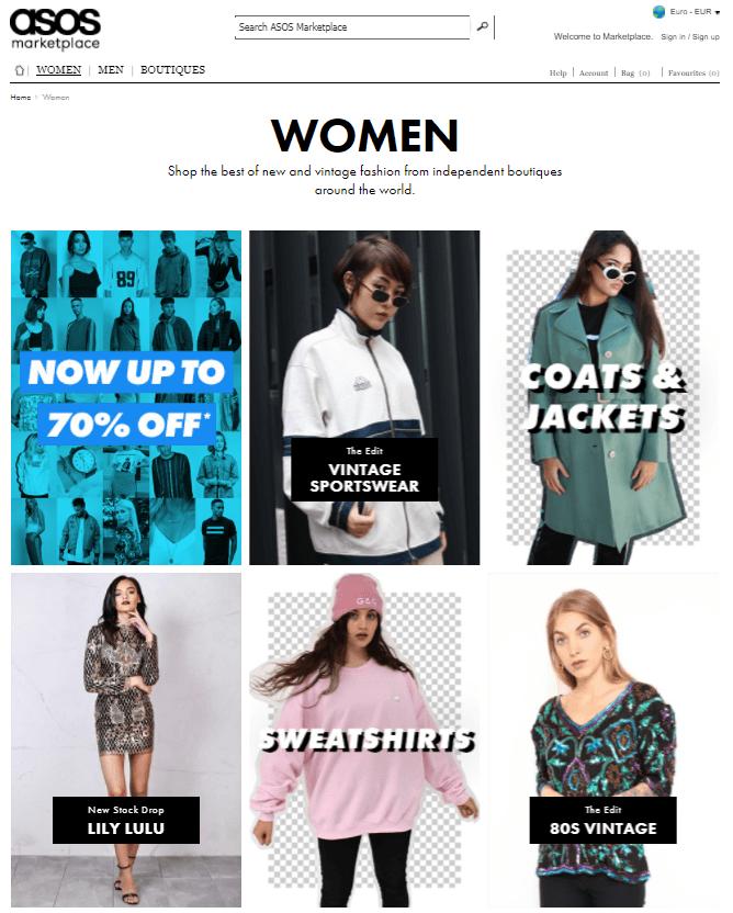 Asos mode femme